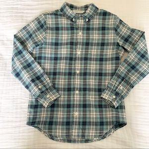 Janie & Jack Boys Plaid Shirt